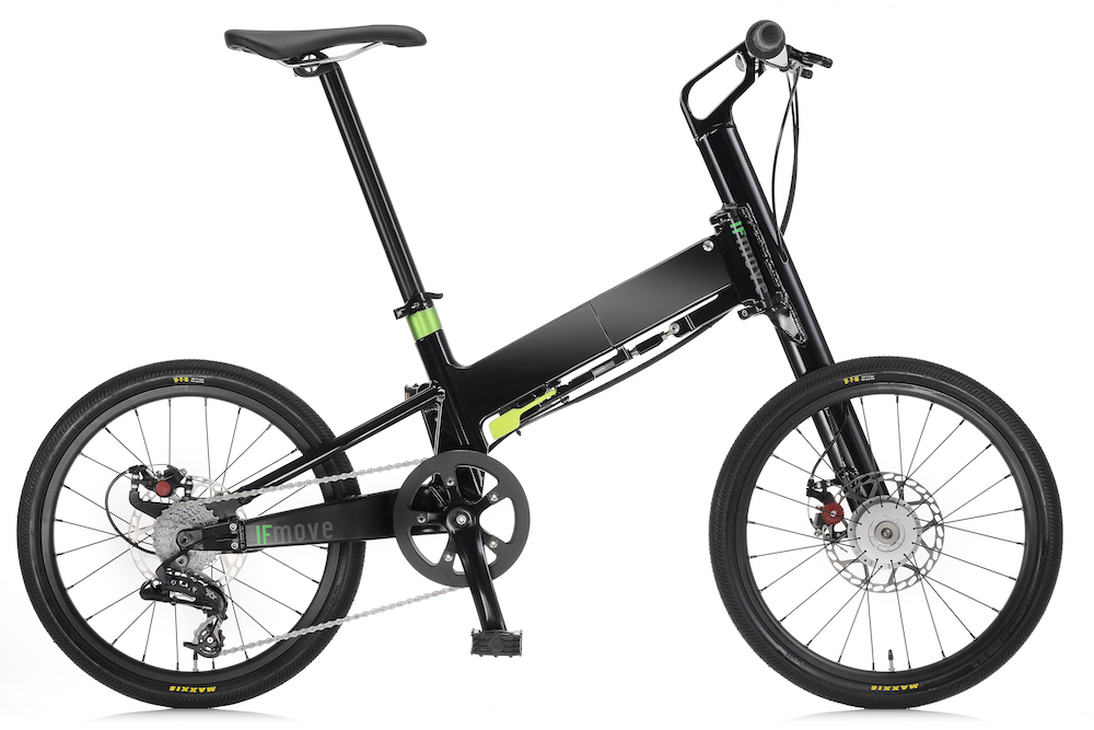 IFmove Bicicleta Plegable