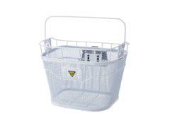 Topeak: Basket Front Blanco – Canasto