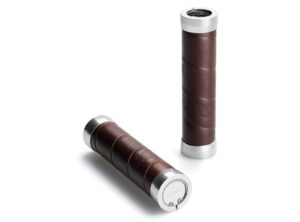 Brooks: Leather Slender Grips – Puños – Cuero