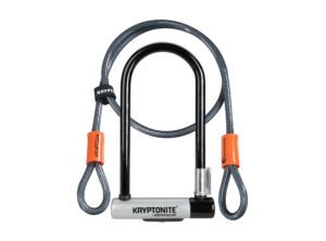 Kryptonite: New-U Kryptolok Standard with Flex – U-lock con Cable