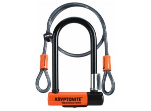 Kryptonite – New-U Evolution Mini-7 with Flex – U-lock con Cable