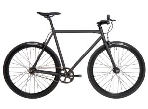 Fyxation: Eastside Matte Black – Bicicleta Urbana