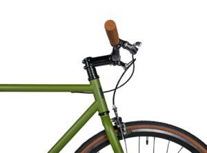 Fyxation: Pixel Olive Green (Verde) – Bicicleta Urbana