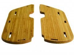 Yuba: Mundo Running Boards Bamboo – cubiertas laterales