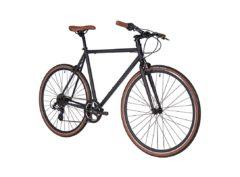 Fyxation: Pixel 7 Speed Black and Tan – Bicicleta Urbana