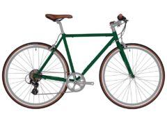 Fyxation: Pixel 7 Speed Emerald Green – Bicicleta Urbana