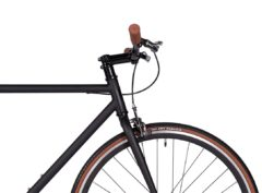 Fyxation: Pixel Black and Tan – Bicicleta Urbana