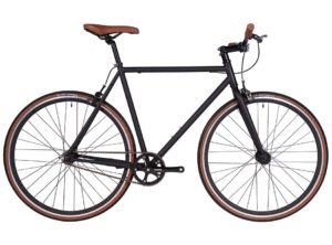 Fyxation: Pixel Black and Tan – Bicicleta Urbana