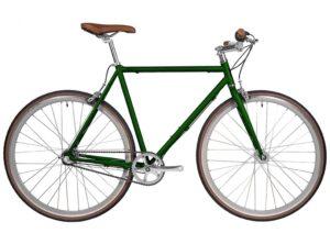 Fyxation: Pixel Emerald Green – Bicicleta Urbana