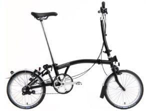 Brompton: H3L Black 3 vel. – Bicicleta Plegable