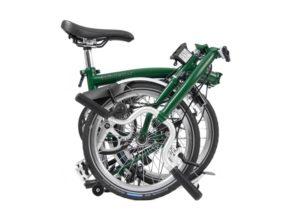 Brompton: H3L Racing Green 3 vel. – Bicicleta Plegable