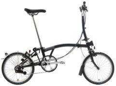 Brompton: M3L Black 3 vel. – Bicicleta Plegable