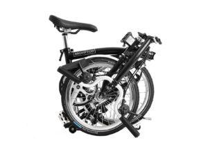 Brompton: M6L Black 6 vel. – Bicicleta Plegable