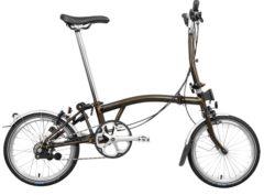 Brompton: M6L Black Lacquer 6 vel. – Bicicleta Plegable