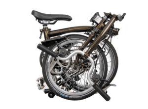 Brompton: M3L Black Lacquer 3 vel. – Bicicleta Plegable