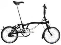Brompton: S2L Black 2 vel. – Bicicleta Plegable