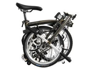 Brompton: S2L Black Lacquer 2 vel. – Bicicleta Plegable