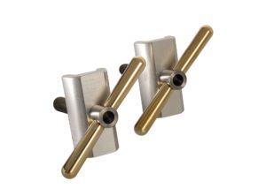 Brompfication: Hinge Clamp Set Brass