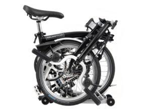 Brompton: M3R Black 3 vel. Rear Rack (Parrilla) – Bicicleta Plegable