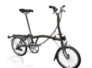 Brompton: M6R Black Lacquer 6 vel. Rear Rack (Parrilla) – Bicicleta Plegable