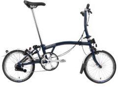 Brompton: S3L Tempest Blue 3 vel. – Bicicleta Plegable